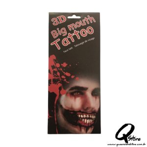 3D Big Mouth - Tatuagem Mod 3
