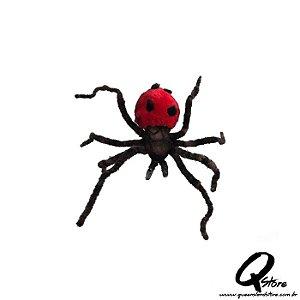 Aranha Pelúcia Halloween