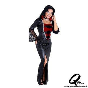 Fantasia Vampira Adulto Luxo