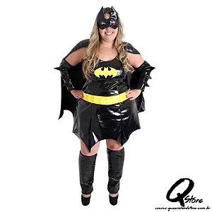 Fantasia Batgirl Plus Size Adulto
