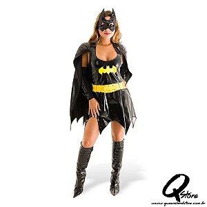 Fantasia Batgirl Adulto - Heat Girls Tamanho PP