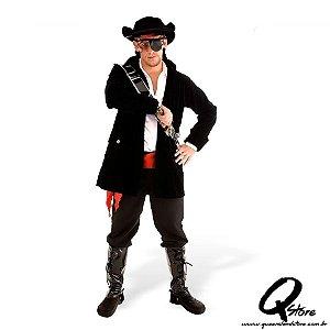 Fantasia Pirata Adulto Masculino Luxo