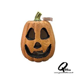 Abóbora Isopor Halloween c/ Led
