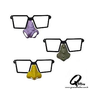 Óculos Arrepio c/ Nariz Sortidos - 10 Unidades
