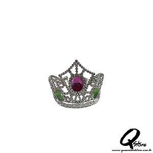Tiara Princesa Prata Simples - Coroa