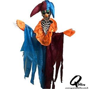 Boneco Halloween Bobo da Corte c/ Luz  113CM X 30CM - 1 Unidade