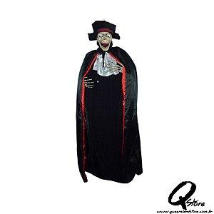 Noivo Cantor c/ Som e Luz Halloween 170cm x 40cm