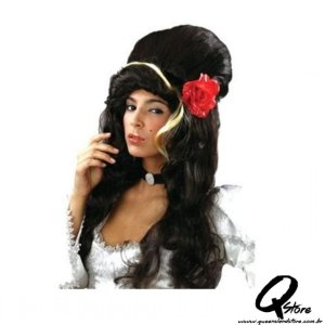 Peruca Amy Winehouse