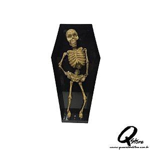 Boneco Halloween Caveira Dançante  - 1 Unidade