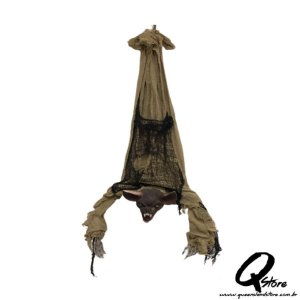 Boneco Morcego s/ Movimento Para  Decoração   83 cm - 1 Unidade