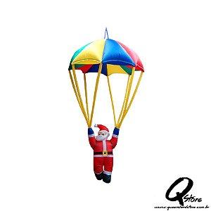 Papai Noel Paraquedas Inflável 1,7 M