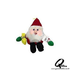 Mini Papai Noel Pelúcia - 31 cm
