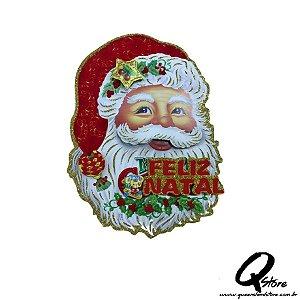 Painel Enfeite Natal Rosto Papai Noel