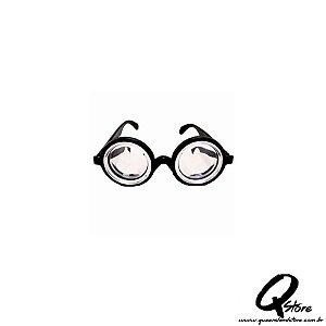 Óculos Do Nerd Intelectual - Fundo De Garrafa