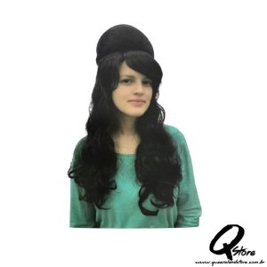 Peruca Amy Winehouse Simples