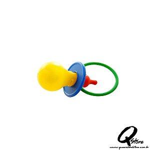 Chupetão Plástico Brinquedo - Carnaval