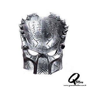 Máscara Predador Plástico - Prata