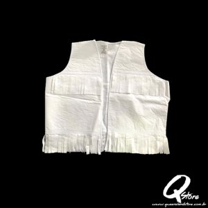 Colete Cowboy Country Infantil Liso -Branco