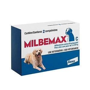 MILBEMAX CÃES 5 a 25 KG (CX. C/ 2)