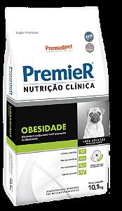 PREMIER NUTRI CLIN CÃES OBESIDADE PQ PORTE 10,1KG