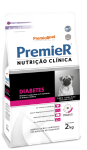 PREMIER NUTRI CLIN DIABETES PQ PORTE 2KG