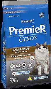 PREMIER GATOS CAST ATÉ 7ANOS SALM 1,5KG