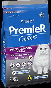 PREMIER AMB INT GATOS AD PELO LONG SALM 1,5KG