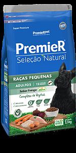 PREMIER SELEÇÃO CÃES ADULT RAÇAS PEQ 2,5KG