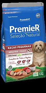 PREMIER SEL NAT RAÇ PEQ BATAT DOCE 2,5KG