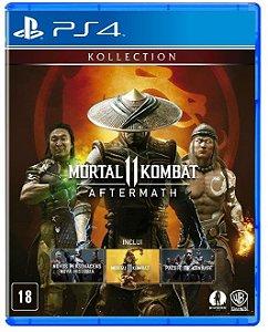 Mortal Kombat 11 Aftermath Ps4 - LACRADO