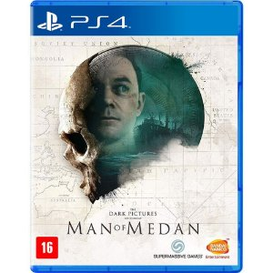 The Dark Pictures Man Of Medan - PS4 - USADO