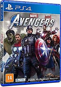 Marvel Avengers Vingadores - Ps4 - LACRADO