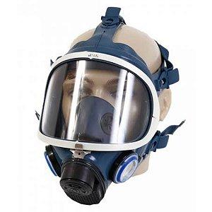 MÁSCARA FACIAL INTEIRA ABSOLUT FULL FACE AIR SAFETY STD CA 16774 COD 514928