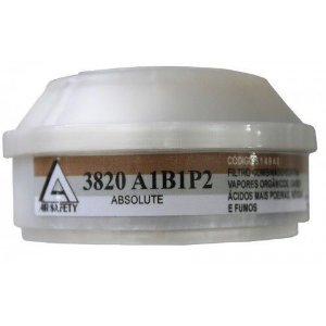 FILTRO COMBINADO TIPO 3820 A1B1P2 LINHA ABSOLUTE AIR SAFETY COD 514940