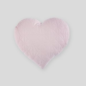 Almofada Coração matelassê rosa