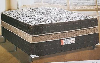 CAMA BOX CASAL CONJUGADO MOLAS ENSACADAS MACRO 138X188X54 - TOPÁZIO