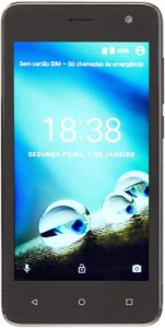 SMARTPHONE MS45 4G QUAD CORE 8GB DUAL CHIP PRETO NB720