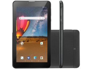 TABLET M7 3G PLUS QUAD CORE 16GB PRETO NB304