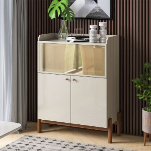 BUFFET  CLOE  100%  MDF ./OFF WHITE/SAVANA