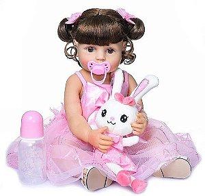 Bebê Reborn de Silicone - Princesa dos Sonhos