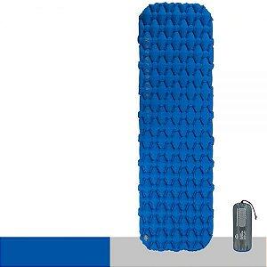 Isolante Inflavel Naturehike Sleeping Pad FC-10 Azul