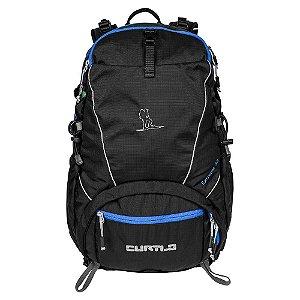 Mochila de Ataque Curtlo Extreme 35L - Preto c/ Azul