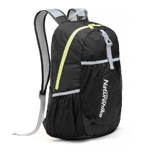 Mochila Naturehike Folding Bag 22L - Compactável - Preto