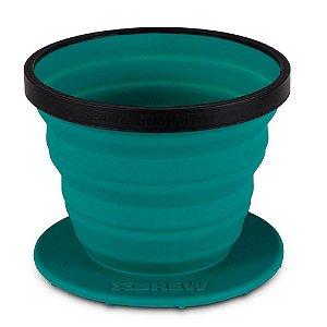 Coador de Café Dobrável Sea to Summit X-Brew Azul