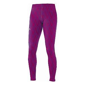Calça Legging Salomon Graphics Tight - Pink