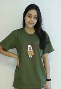 Camiseta Pegada Unissex - Verde