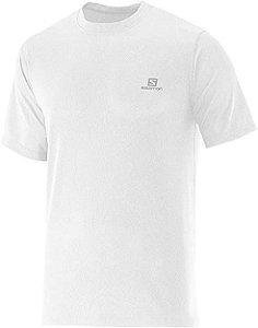 Camiseta Salomon Comet SS Masculino - Branca