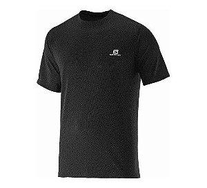 Camiseta Salomon Training Masculino - Preta