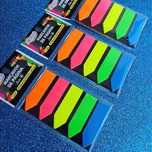 Flags Marca Páginas BRW Neon - 5 cores