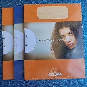 Refil para caderno ATOMA - A4
